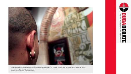 Espacio para el tatuaje cubano