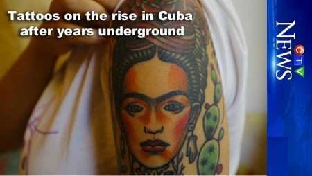 Tattoos on the rise in Cuba after years underground