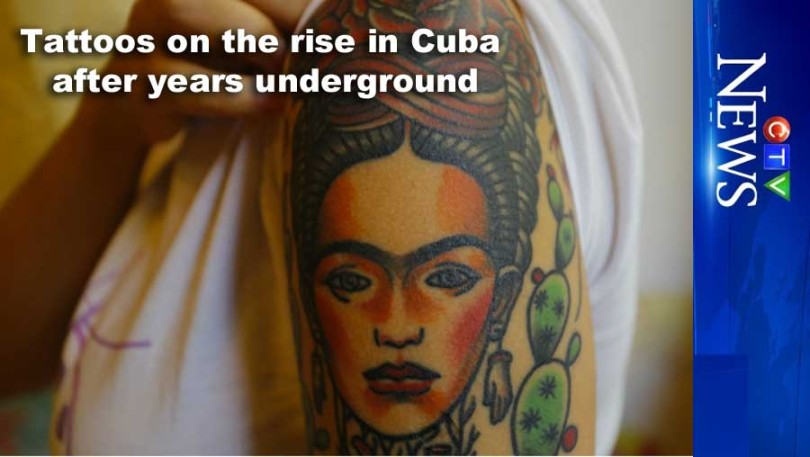Tattoos on the rise in Cuba